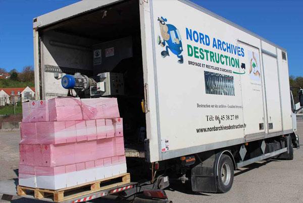 Camion broyeur Nord Archives Destruction